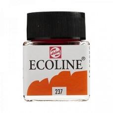 Royal Talens акварель жидкая Ecoline в баночке 30 мл. №237 оранжевый насыщенный