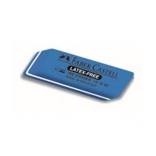 Faber-Castell. Ластик 7016 из каучука для туши/чернил, 34x14x8 мм, синий