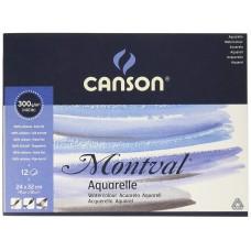 Canson Альбом для акварели Монваль 300г/м, 29.7x42 см, Фин, 12 л.
