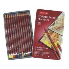 Derwent. Набор пастельных карандашей PastelPencils, 12 штук, металлическая коробка