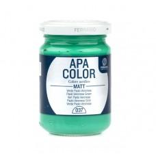 """Акриловая краска APA COLOR №37 """"Зелёный Паоло Веронез"""", 150 мл"""