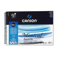 Canson Альбом для акварели Монваль 300г/м Фин, 10.5х15,5 см