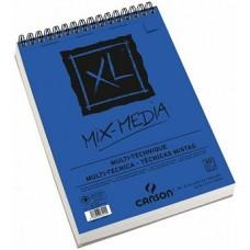 Canson Альбом для акварели Монваль XL Mix-Med, 300г/м, среднее зерно