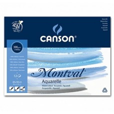 Canson Альбом для акварели Монваль 300г/м, 24х32 см, Фин, 12 л.