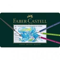Faber-Castell. Акварельные карандаши ALBRECHT DURER 60 цветов в металлической коробке