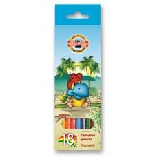 """Koh-i-noor. набор цветных карандашей """"Птицы"""" набор 18 цветов"""