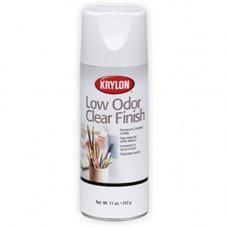 Krylon. Защитный лак в аэрозоле без запаха Low Odor Clear Finish, глянцевый