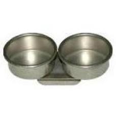 Масленка металлическая двойная без крышки D=4,5см