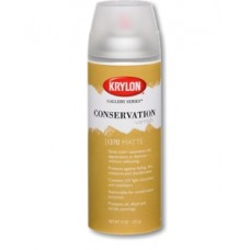Krylon. Защитный лак в аэрозоле матовый Conservation Retouch Varnish 312 г.