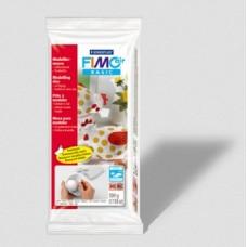 Fimo Air полимерная глина basic самоотвердевающая натуральная глина на водной основе, 500 г, белый