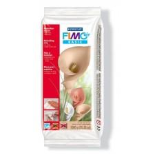 Fimo Air полимерная глина basic самоотвердевающая натуральная глина на водной основе, 1 кг. телесный