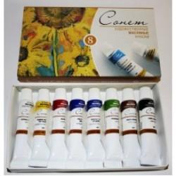 Масляные краски наборы 12 цветов