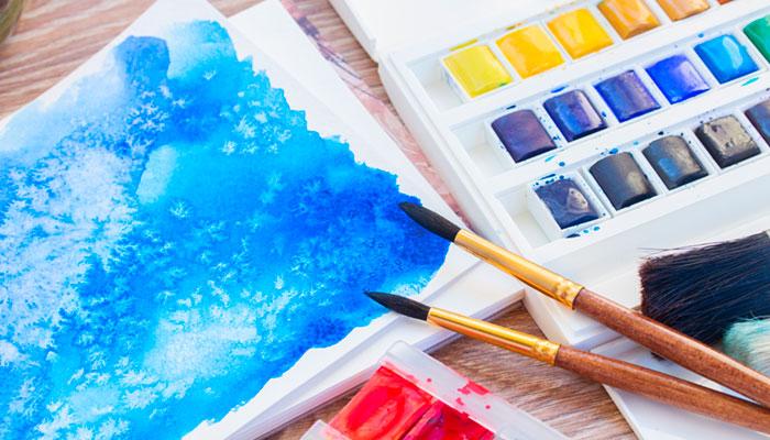 Купить акварельные краски