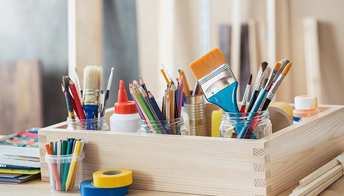 Ящик для хранения красок