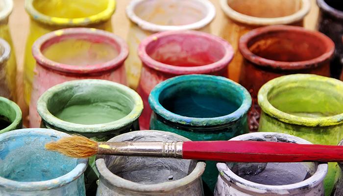Стакан для красок непроливайка